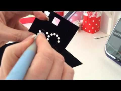 youtube on how to make envelopes in scanncut canvas