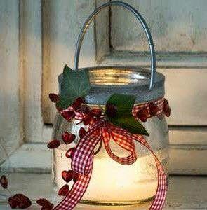 El vidrio, frascos, botellas, vasos. Mil manera para decorarlos