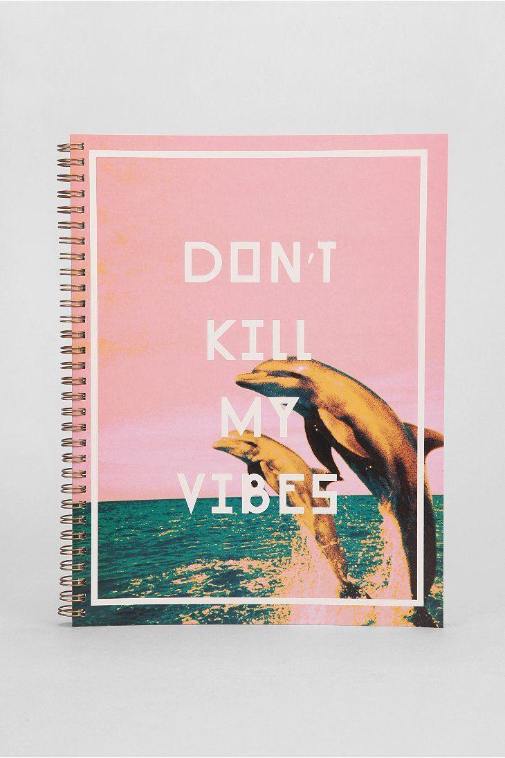 Vibes Spiral Notebook