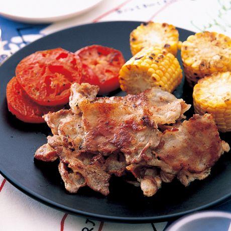 夏豚バーベキュー   コウケンテツさんの料理レシピ   プロの簡単料理レシピはレタスクラブニュース