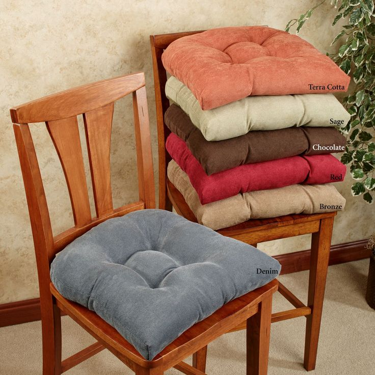 Twillo Slip Resistant Chair Cushion Set (With images