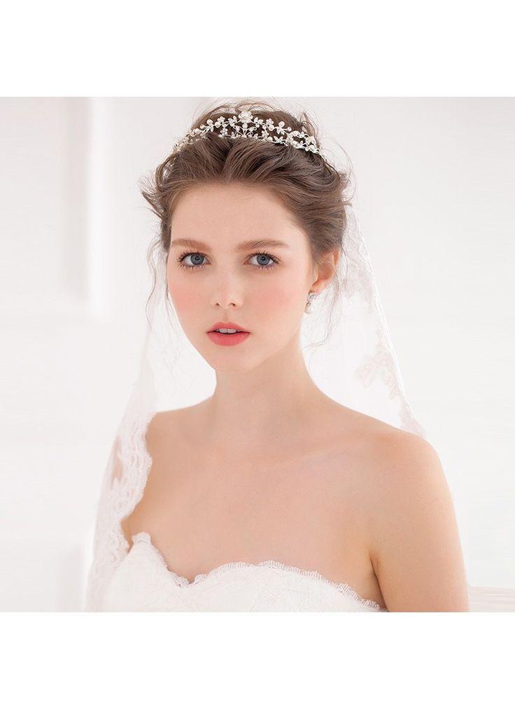 ティアラ ヘッドドレス アクセサリー パール 人気新品 HP15026