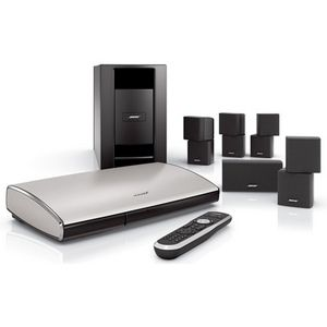 Bose® Lifestyle® T20 home Theater System MODEL: LST20 5.1 Surround Sound 1080p Hi Definition Optical Input HDMI 4 In/1 Out Sub/Satellite Speakers