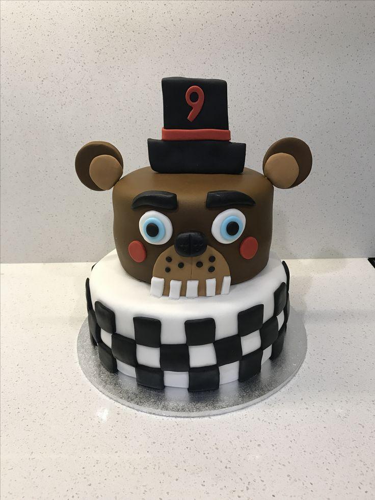 Five Nights at Freddys cake for my nephews 9th birthday.