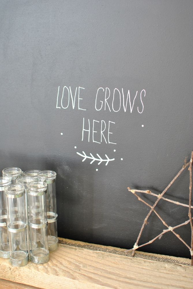 """sticker """"love grows here"""" simply factory"""