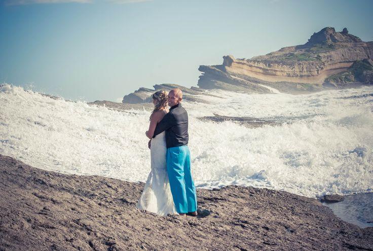 Melissa & Jason at Castlepoint Beach Wedding