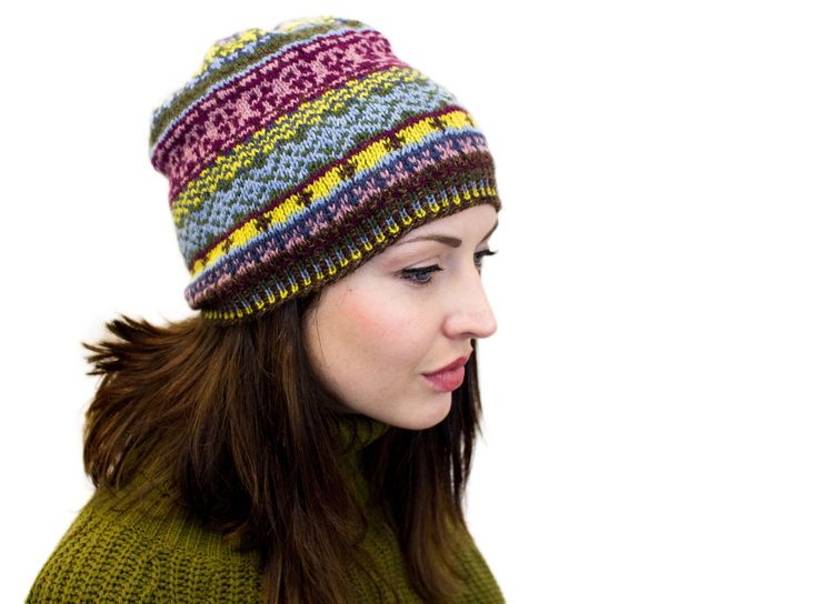 20 best Knit Hats in Cashmere Yarn images on Pinterest | Knit caps ...