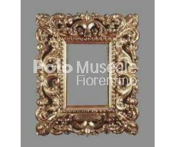 Polo Museale Fiorentino - Catalogo delle opere Esecuzione ottocentesca di motivi tardo-barocchi dettata dalla necessità di adeguarsi allo stile predominante delle cornici della quadreria.
