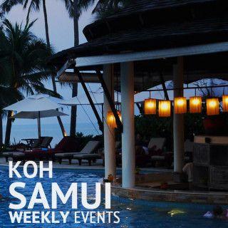 Koh Samui weekly events schedule