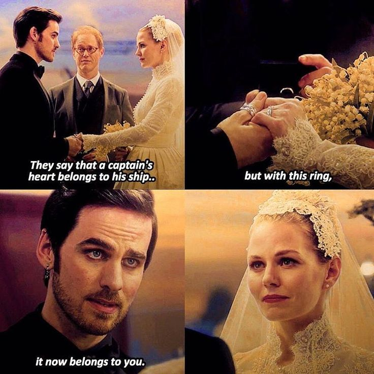 Shouldn't be surprised one of the most beautiful wedding vow lines I've ever heard was given to Killian