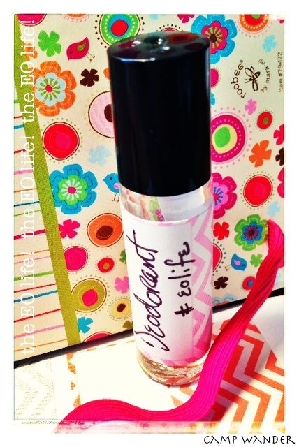 Pure Essential Oil ROLL~ON Deodorant, it works!  Roll on healthy, toss out scary! #eolife