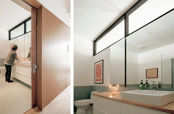 Redisposition de la salle de bain