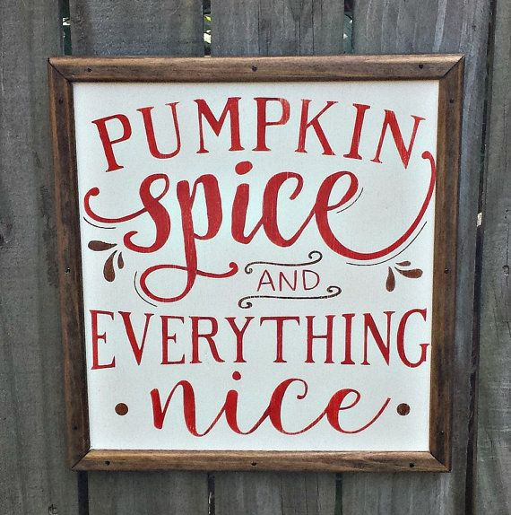 Pumpkin Spice and Everything Nice Solid by GypsyWindPrimitives