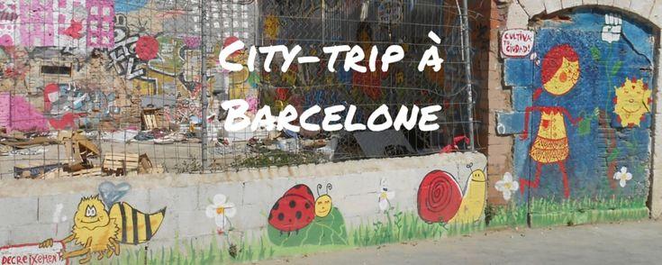 City-trip à Barcelone avec 3 jeunes enfants