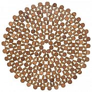 Azores Brown placemat We are delighted to offer these unique segmented placemats - woven together from individual pieces of bamboo, these super elegant and practical placemats are a favorite at the Wine : Taste shop.