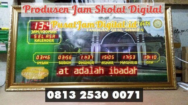 Jam Untuk Masjid Di Musi Rawas Utara Wa 0813 2530 0071 Beli