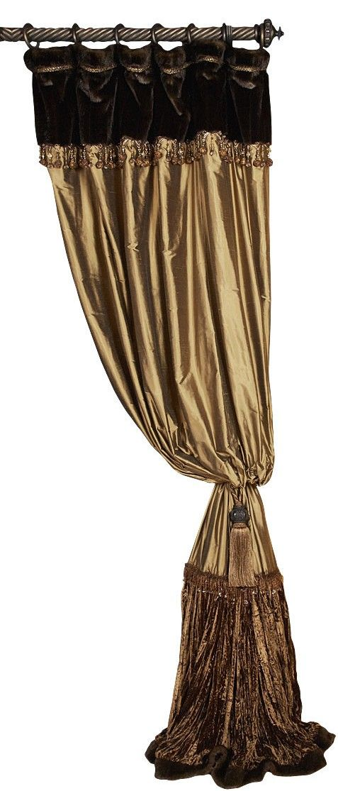 Reilly-Chance Collection CURTAINS in Style #9.      Available in all Reilly-Chance Collection Fabrics.