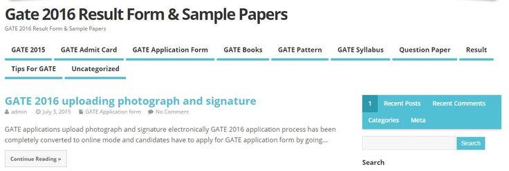GATE Result Facebook: 25+ Best Ideas About Registration Form Sample On Pinterest