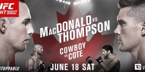 UFC FIGHT NIGHT 89 OTTAWA MACDONALD VS. THOMPSON