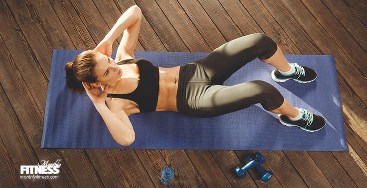 Sıkı Karın Kasları — Monthly Fitness