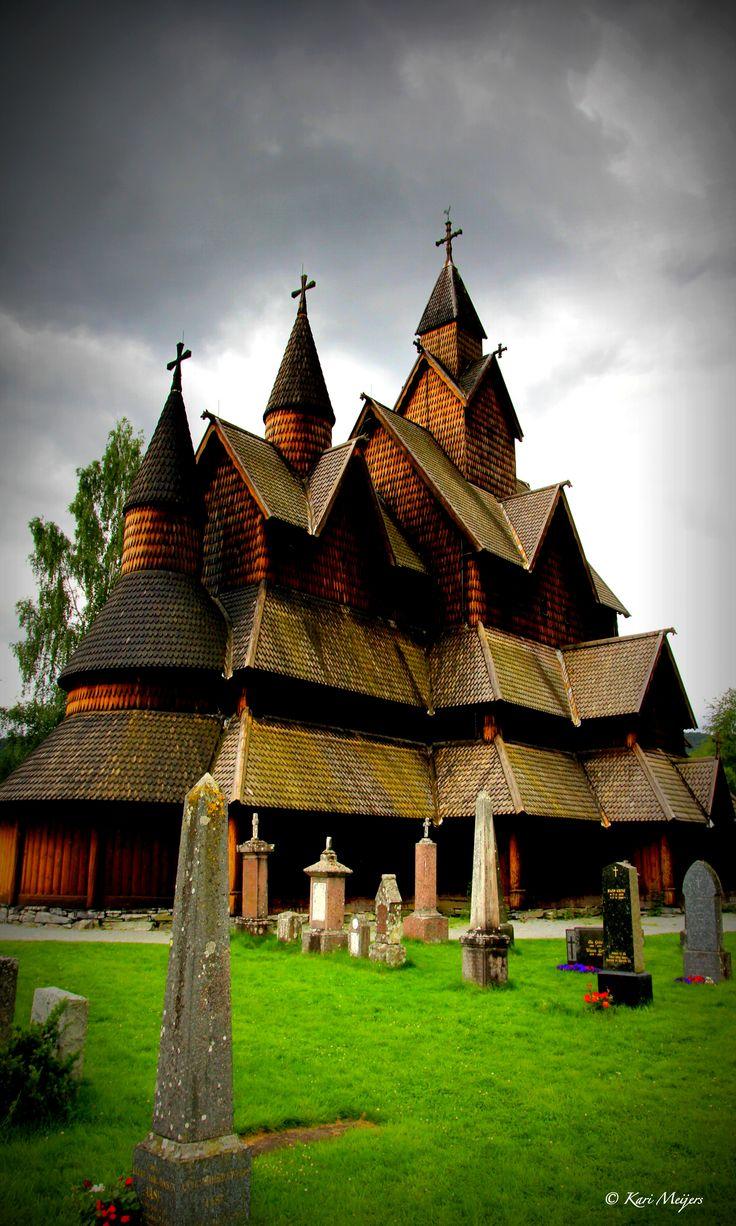 Heddal Stavkirke 1250- Telemark: Stave Church, Heddal Stavkirke, Stavkirke 1250