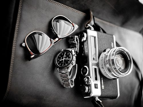 Zamansız: Old Schools, Watches Cameras, Style Inspiration, Men Style, Schools Looks, Accessories, Gentleman Things, Cameras Porn, Sweet Life