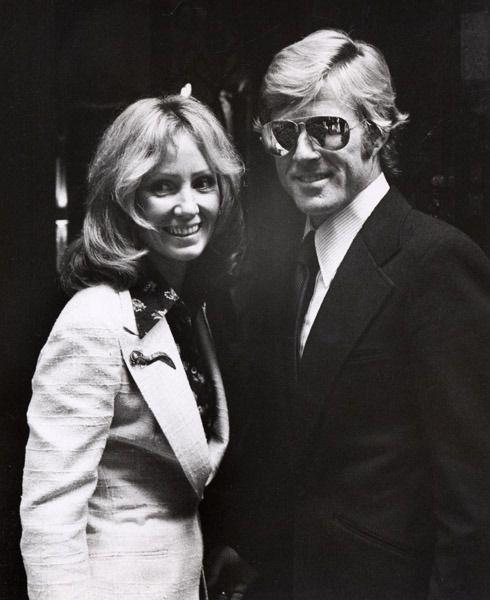 """"""" Robert Redford with ex-wife Lola Van Wagenen """""""