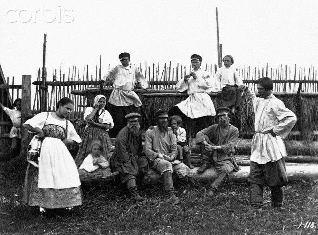 19th century st petersburg photo | 19th-Century Russian Peasants - IH155933 - Rights Managed - Stock ...