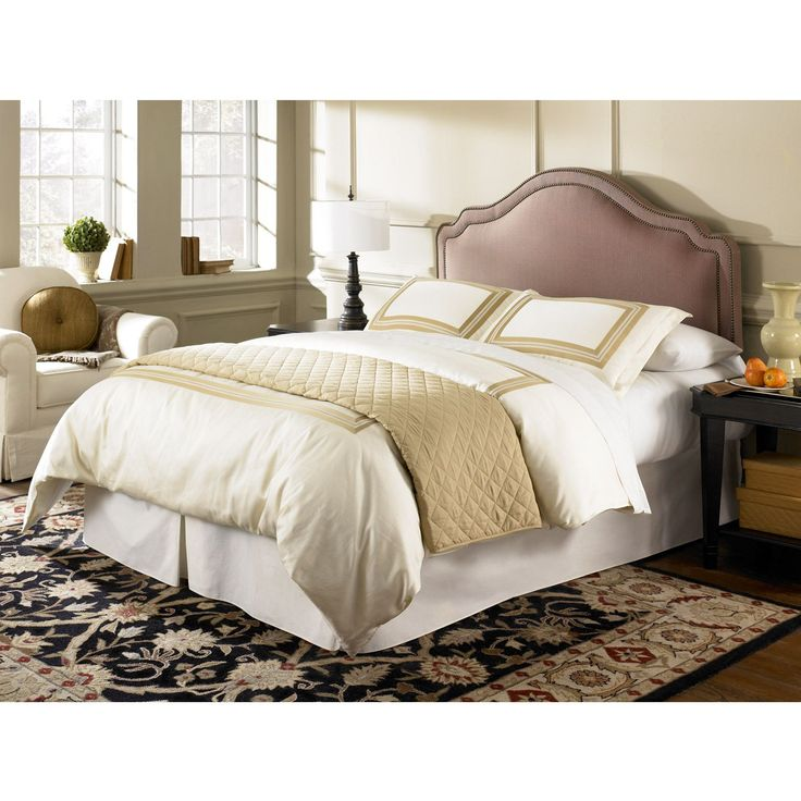 Fashion Bed Saint Marie Queen Full Size Upholstered Headboard