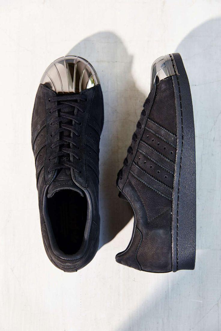 adidas Blue Superstar 80s Metal-Toe Sneaker