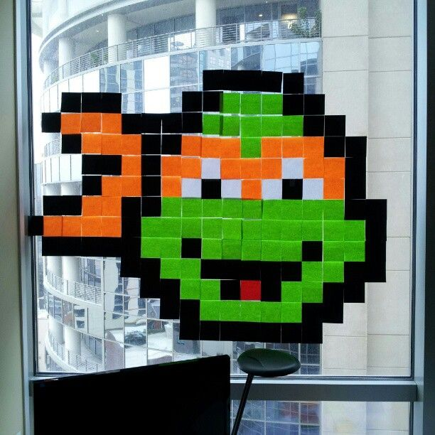 Exceptionnel 72 best Pixel Art / Post its images on Pinterest | Pixel art  DT02