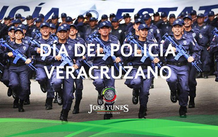 Mi más grande reconocimiento a quienes con valor, honestidad y lealtad defienden a la sociedad. Feliz Día del Policía Veracruzano.