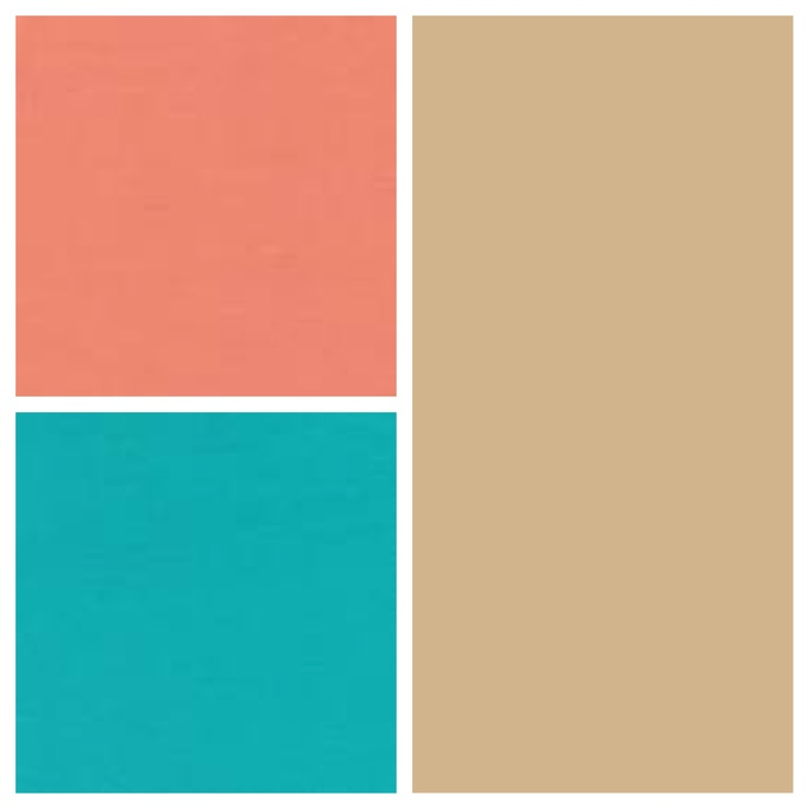 Like the peach blue together for either bathrooms room for Peach colored bathroom ideas