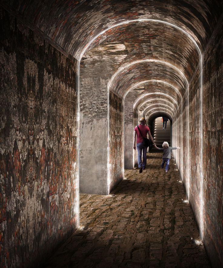 Galería de Este es el diseño de Colectivo720 + De Arquitectura y Paisaje que iluminará castillo en Cartagena - 8
