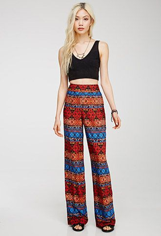 Tribal Print Pants | FOREVER21 - 2000078578