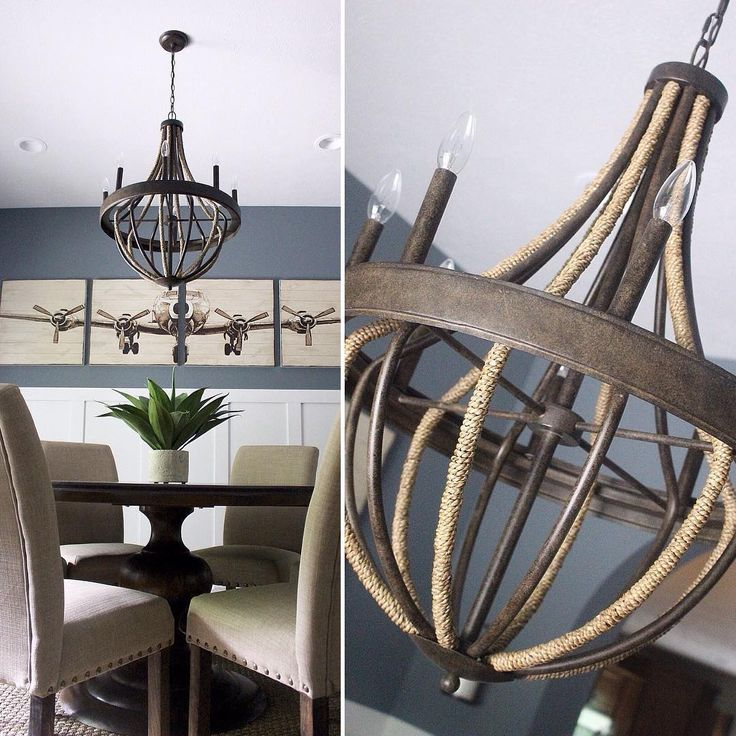 Hot Off The Press Pembroke Chandelier Is Already Making A Statement Blend Of