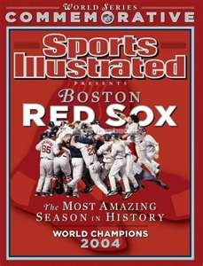 commemorative 2004 world series champions edition of sports illustrated
