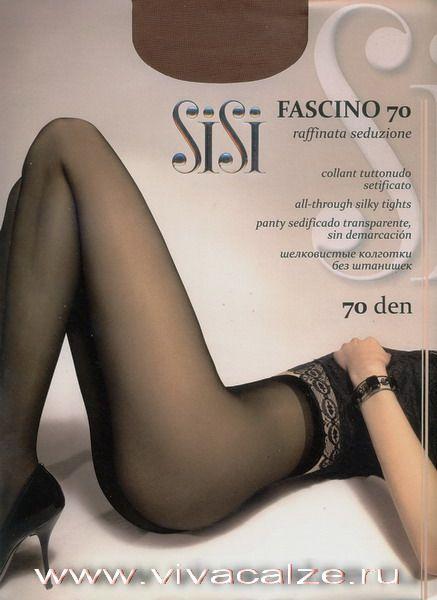 FASCINO 70 Шелковистые эластичные полупрозрачные однородные по всей длине #колготки 70 den высшего качества с ластовицей.