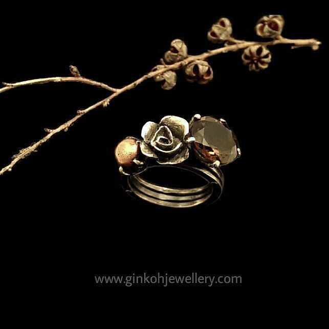 #ginkohjewellery #handmade #oneofakind #earthy #ecofriendly #jewellery #ring #nature #seedpods #silver #black #rose #instagood #shopsmall #greatoceanroad #anglesea #torquay #aireysinlet #australianmade #womensfashion by ginkoh_jewellery