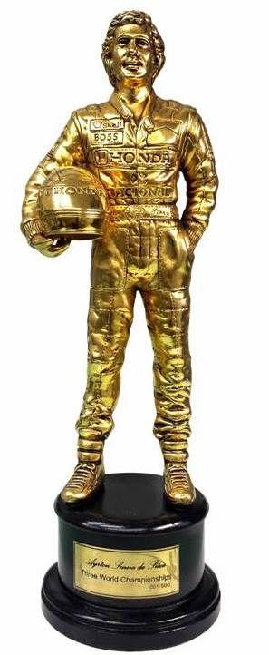 Senna de Ouro. Troféu para pole-position (Corrida do Milhão Stock Car)