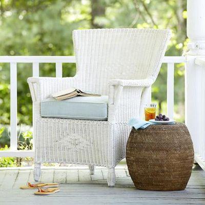 Serene Coastal Porches Using Beach Style Creature Comforts | Cottage & Bungalow