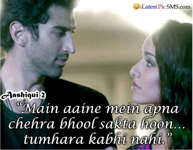Love Wallpapers With Dialogue : 13 best images about Aashiqui 2 quotes aditya roy kapur ...