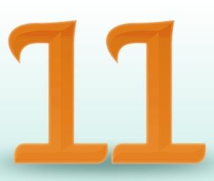 Positive Characteristics: The 11 is the most intuitive of all numbers. It is instinctual, charismatic, dynamic and capable when its sights are set on a concrete goal. The 11 is the number associated with faith and psychics.  11 is a master number that can be broken down as a 2 for certain purposes or expanded understanding