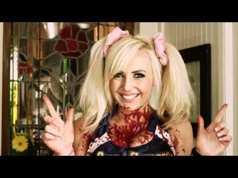Superstar cosplayer Jessica Nigri won the competition to become the official IRL version of Lollipop Chainsaw's badass cheerleader heroine, Juliet Starling, and now she's appearing in her first official ad for the game.    It's also an ad for Zom-be-Gone, the only anti-zombie detergent your cute clothes will ever need. Chainsaw and boyfriend's disembodied head sold separately.