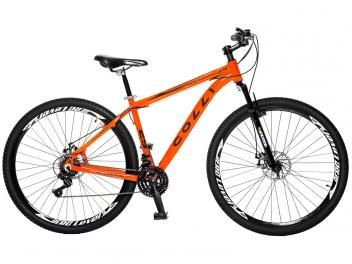Bicicleta Colli Bike 531.12 Aro 29 21 Marchas - Suspensão Dianteira Câmbio Shimano Freio à Disco
