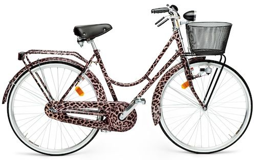 Dolce & Gabbana Animal Print Bike (can't believe how they could put such an ugly basket! ;)