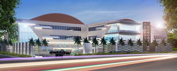 Sport Centre. Surabaya