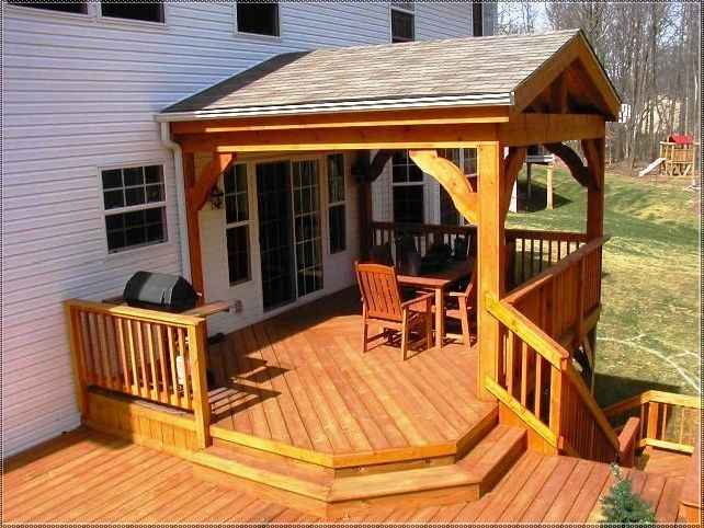 Good Back Deck Roof Designs | Photo Gallery Of The What To Be Thought When  Finding Deck
