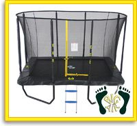 Rectangle Trampolines : Big Air Trampolines, Safe trampolines - Buy trampolines online