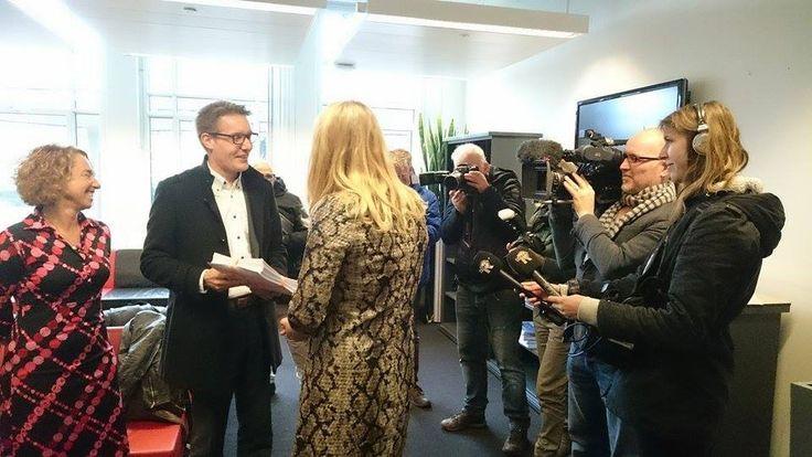 11.000 handtekeningen aangeboden aan Minister Schultz A13/A16? NoWay